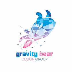 Gravity Bear Logo by dippydude