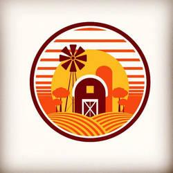 Farm Logomark by dippydude