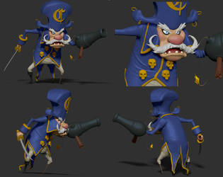 Captain Crunch Model by dippydude