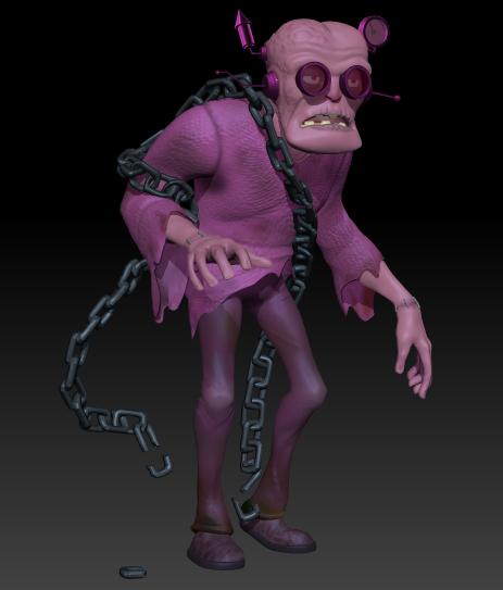 Frankenberry 3D Model by dippydude