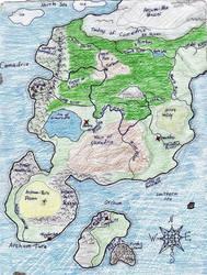 WolfSong Map from 2007 by Shirisaya