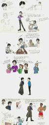 Sherlock Sketchdump by Shirisaya