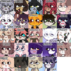 character icon batches by rekurii
