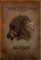 Worgen by Morbidouce