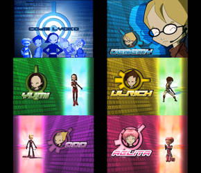 Code Lyoko Collage by jake555555555