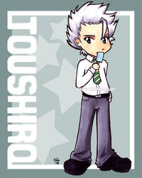 Chibi Series: Toushiro by jurijuri