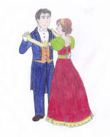 Andreas Marino and Cati Abbott Dancing by ShimmeringDewdrops