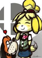 Smash Bros. Doggos by ZionWorldArtist