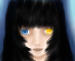 Black Hair Doll by ArchangelOfSalvation