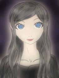 dark girl by ArchangelOfSalvation