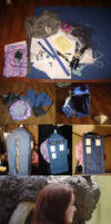TARDIS Backpack by witchcraftywolfen