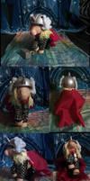 MLP-Marvel: Thor by witchcraftywolfen