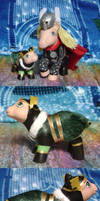 MLP-Marvel: Kid Loki by witchcraftywolfen