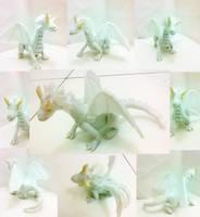 white Dragon by michandaze