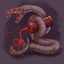 serpent Tempter by Bernarcio