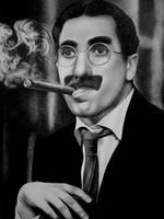 Groucho Marx by zetcom
