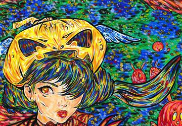 Halloween - coloring challenge by ioanabart