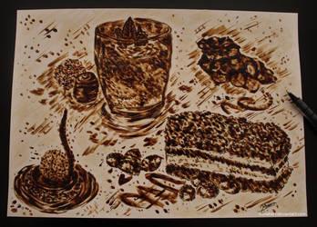 Coffee Art Challenge by ioanabart