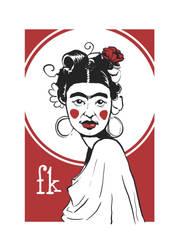 Frida poster by Gardon
