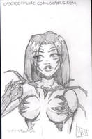 Convention Sketch Card6 by SavantGuarde