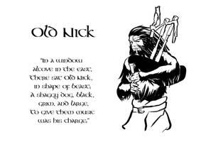 Tam O' Shanter, Old Nick by SavantGuarde