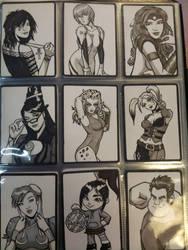 DOJ-CON ACEO cards 10-18 by SavantGuarde