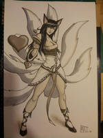 Ahri pic for DOJ-CON by SavantGuarde