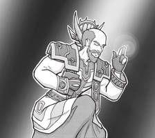 warcraft priest by SavantGuarde