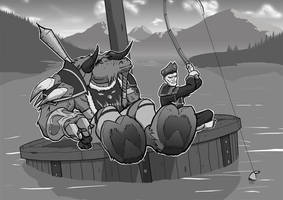 Warcraft Commission by SavantGuarde