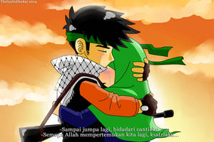 Muslim Anime Screenshot by me :v by TheSyahidSeeker