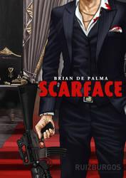 SCARFACE (1983) by RUIZBURGOS