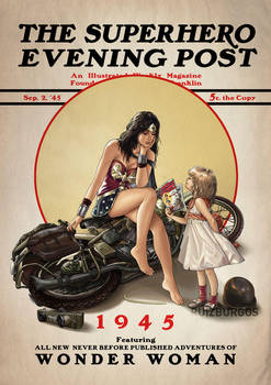 WONDER WOMAN 1945 by RUIZBURGOS