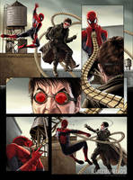 SPIDER-MAN (sample page) by RUIZBURGOS