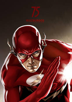 THE FLASH - 75th Anniversary Exhibition by RUIZBURGOS