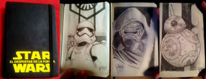 STAR WARS Sketchbook 1 by RUIZBURGOS