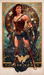 WONDER WOMAN by RUIZBURGOS