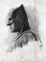 JUSTICE LEAGUE - BATMAN by RUIZBURGOS