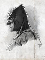 JUSTICE LEAGUE - BATMAN by RUIZBURGOS