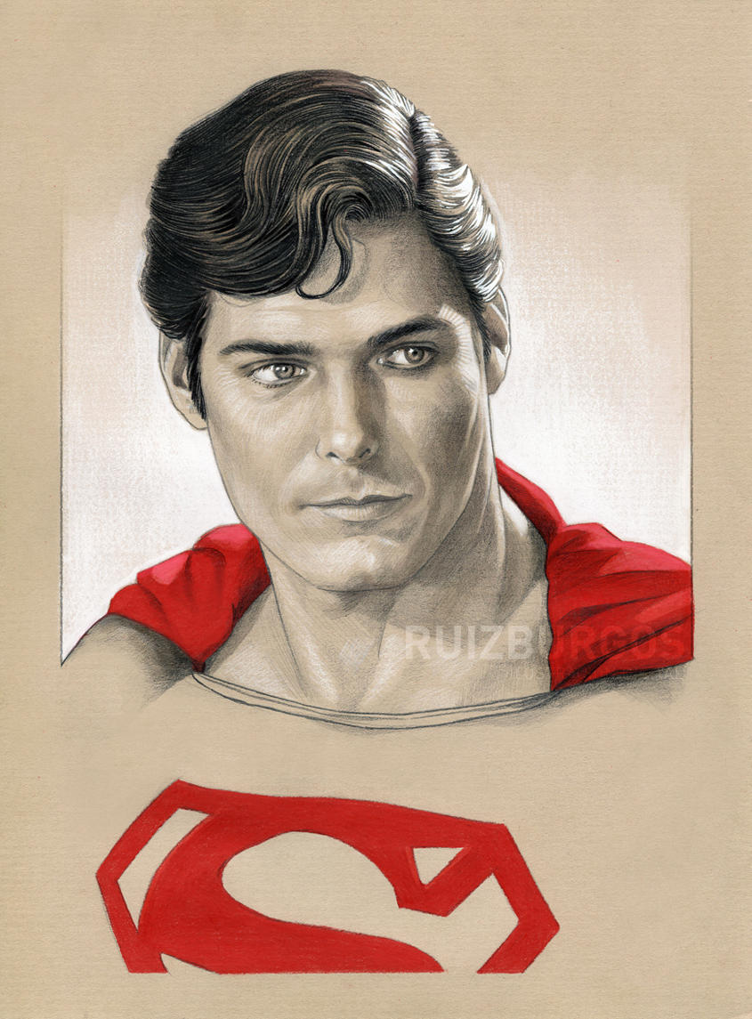 SUPERMAN Portrait by RUIZBURGOS