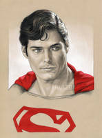SUPERMAN Portrait by RUIZBURGOS