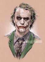 LEDGER JOKER by RUIZBURGOS