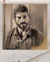 The Last of Us - JOEL by RUIZBURGOS