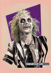 PENCIL BEETLEJUICE by RUIZBURGOS