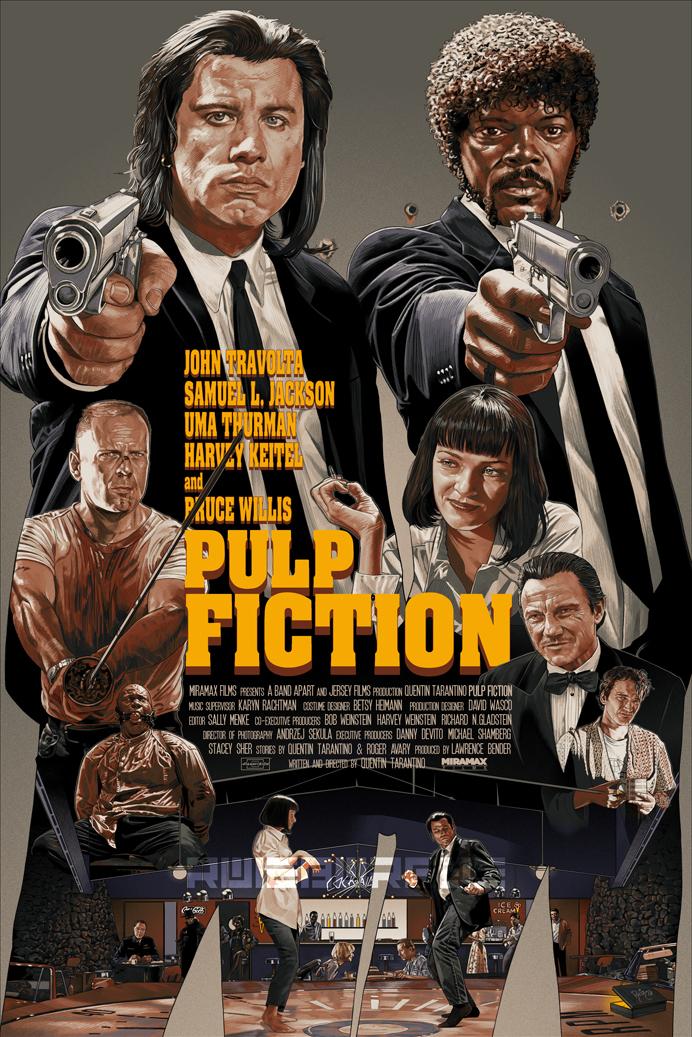 PULP FICTION by RUIZBURGOS
