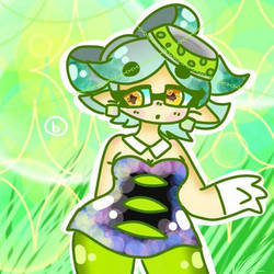 splatoon - Marie by puppetslasher