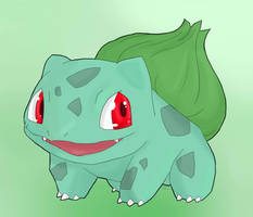 001 Bulbasaur by Shadow-Charge