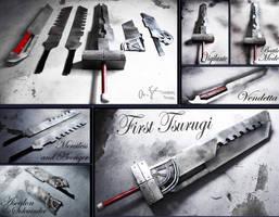FFVII AC - First Tsurugi by AmenoKitarou