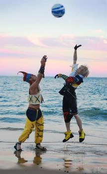 Final Fantasy X - Play Ball by AmenoKitarou