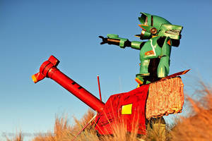 FLCL - Atomsk Cannon, FIRE by AmenoKitarou