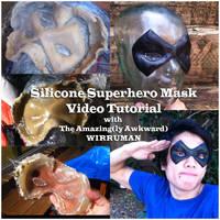 Cosplay Tutorial: Silicone Cast Superhero Mask by AmenoKitarou